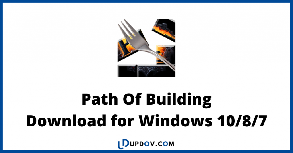 Path Of Building download for windows